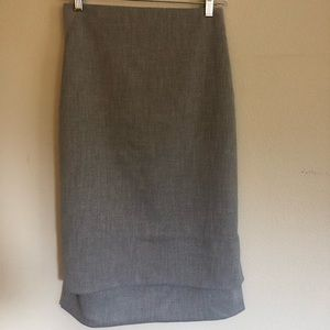 Ted Baker pencil skirt with step hem, US size 10